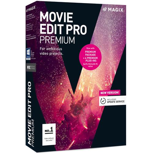 MAGIX Entertainment Movie Edit Pro Premium (2019) Software - EDU Site License 05-99