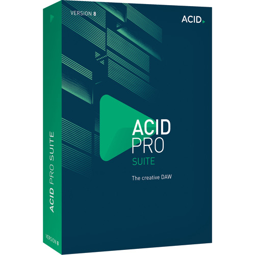 MAGIX Entertainment ACID Pro 8 Suite Upgrade - Loop-Based Music Production Software (5-99 Tier Site-License, Download)