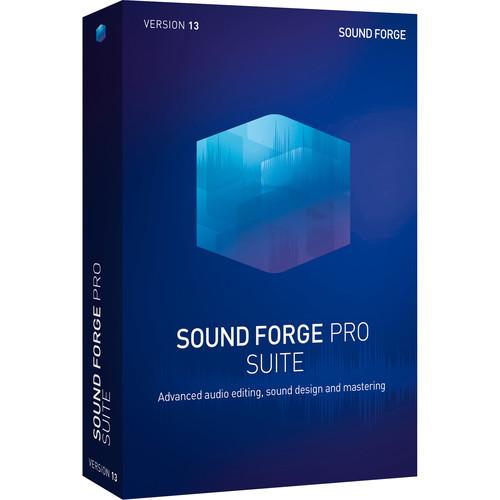 MAGIX Sound Forge Pro 13 Suite (5-99 Site License, Academic, Download)