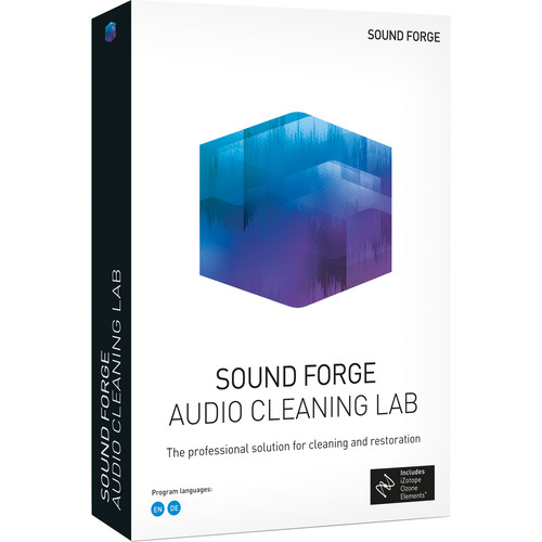 MAGIX Entertainment Sound Forge Audio Cleaning Lab - ESD - Site License 05-99