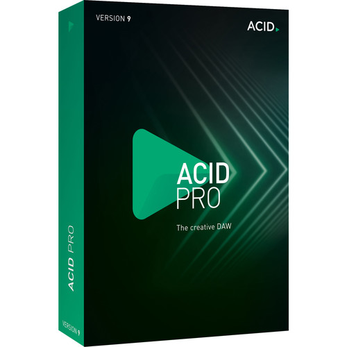 MAGIX Entertainment Acid Pro 9 (Upgrade from Previous Version) - Academic Site License 05-99