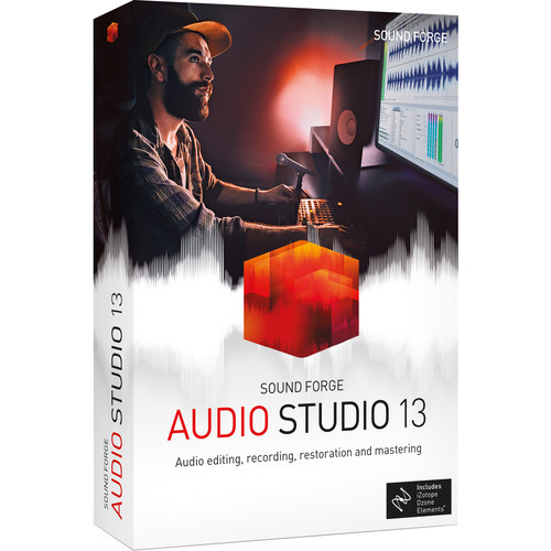 MAGIX Entertainment SOUND FORGE Audio Studio 13 - Audio Editing Software (100+ Tier Site-License, Download)