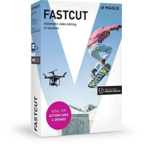 MAGIX Entertainment Fastcut - Video Editing Software (100+ Tier Site-Licenses, Download)