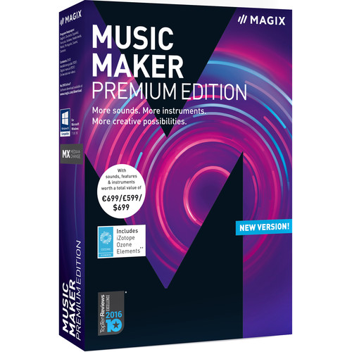 MAGIX Music Maker Premium Edition - Music Production Software (Boxed)