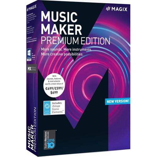 MAGIX Entertainment Music Maker Premium Edition - Music Production Software (Boxed)