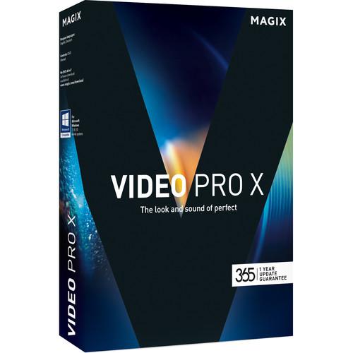 MAGIX Entertainment Video Pro X (Volume 5-99, Academic, Download)