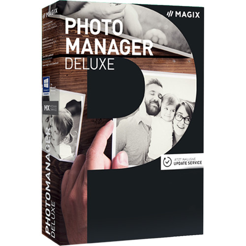 MAGIX Photo Manager Deluxe (Download, Academic Edition, Upgrade, 5-99 Volumes)