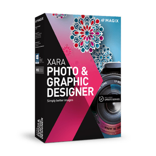 MAGIX Entertainment Xara Photo & Graphic Designer (Download, Academic Edition, 5-99 Volumes)