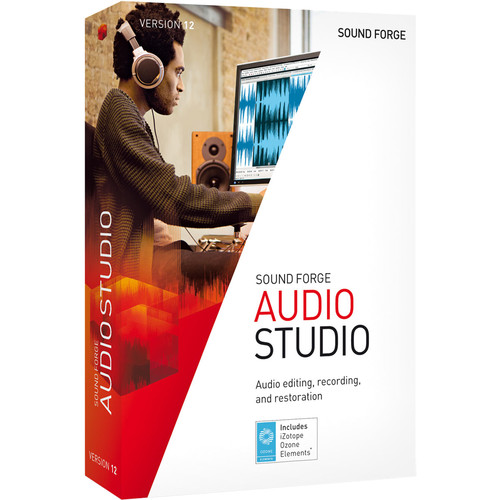 MAGIX Entertainment Sound Forge Audio Studio 12 - Audio Editing Software (100+ Tier Site-Licenses, Download)