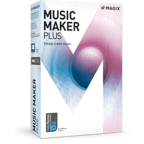 MAGIX Entertainment Music Maker Plus Edition - Music Production Software (5-99 Tier Site-License, Download)