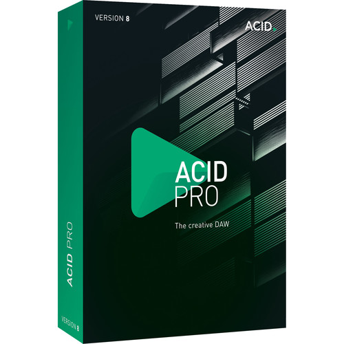 MAGIX Entertainment ACID Pro 8 - Loop-Based Music Production Software (Educational, Download)