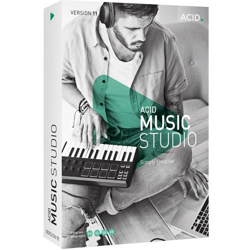 MAGIX Entertainment ACID Music Studio 11 - Music Production Platform (100+ Tier Site-License, Download)