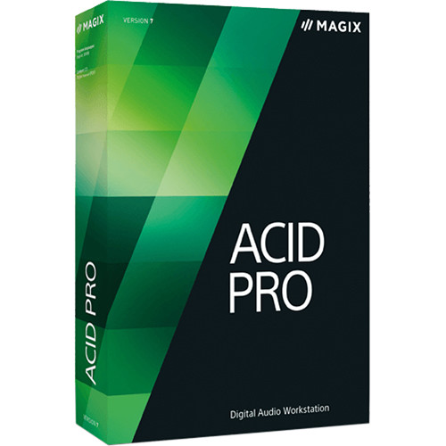 MAGIX Entertainment ACID Pro 7 - Audio, MIDI and Loop Based Recording Software (Educational Discount, 100+ License Tier)