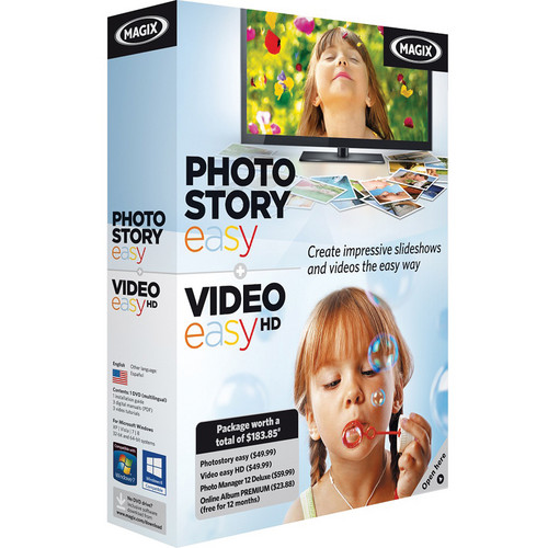 MAGIX Entertainment Photostory easy & Video easy HD Bundle (Download)