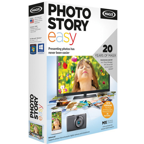 MAGIX Entertainment Photostory easy (Download)