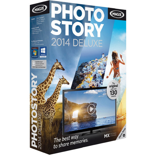 MAGIX Entertainment Photostory 2014 Deluxe (Download)