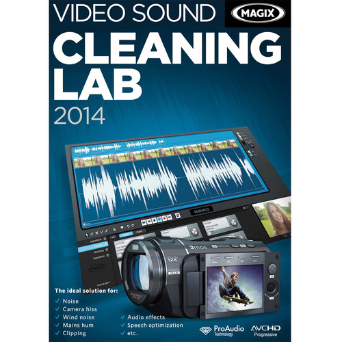 MAGIX Entertainment Video Sound Cleaning Lab 2014 for Windows (Download)