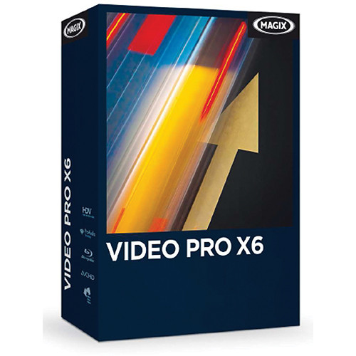 MAGIX Entertainment Video Pro X6 Video Editing Software for Windows (Download)