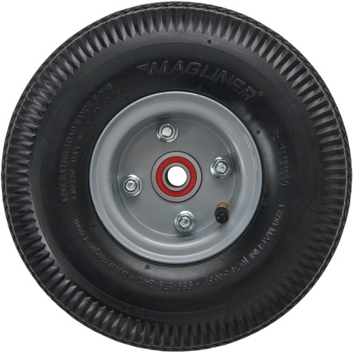 "Magliner 4-Ply Pneumatic Wheel with Offset Hub (10 x 3.5"")"