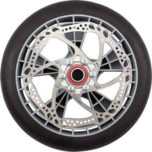"Magliner Microcelluar Wheel with One-Piece Polyethylene Plastic Hub (10"")"