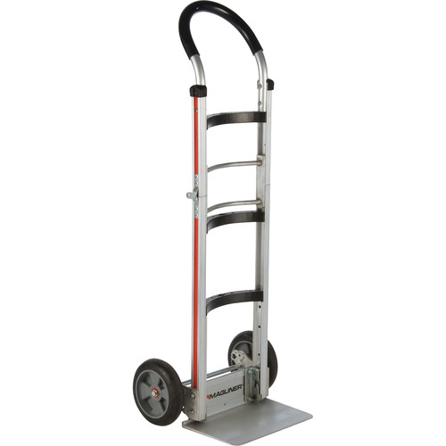 Magliner Two-Wheel Folding Hand Truck with Curved-Back Frame