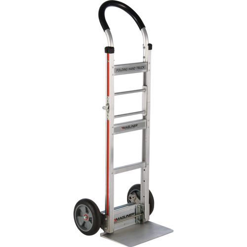 Magliner Two-Wheel Folding Hand Truck with Straight-Back Frame