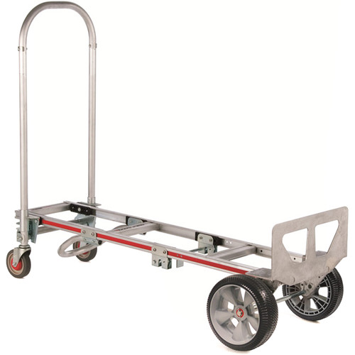 "Magliner Gemini Sr. Convertible Hand Truck with 10 x 3.5"" Microcellular Foam Wheels"