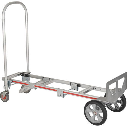 "Magliner Gemini Sr. Convertible Hand Truck with 10"" Interlocked Microcellular Foam Wheels"