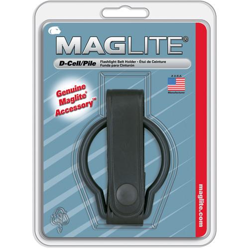 Maglite Belt Holder for D-Cell MagLite (Leather)