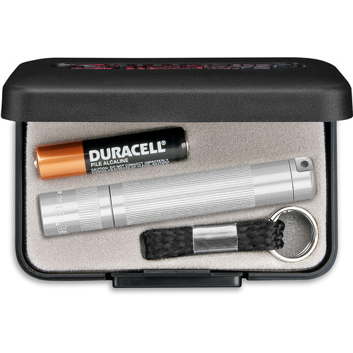 Maglite Solitaire 1-Cell AAA LED Flashlight (Silver, Presentation Box)
