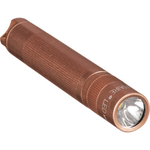 Maglite Solitaire 1-Cell AAA LED Flashlight (Rose Gold, Presentation Box)