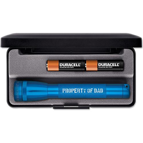 Maglite Mini Maglite 2-Cell AA Engraved Flashlight (Blue)