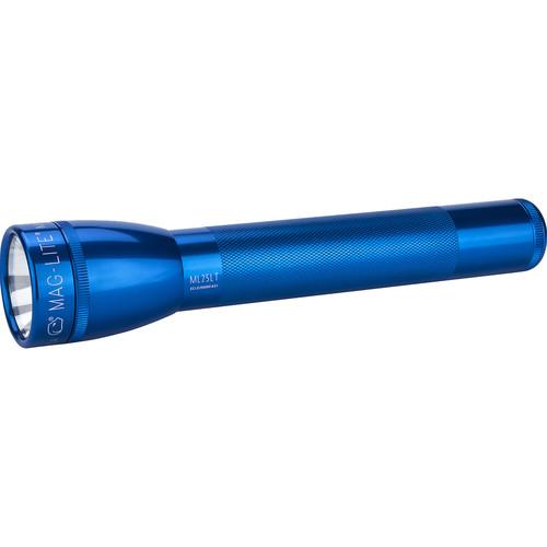 Maglite ML25LT 3C-Cell LED Flashlight (Blue, Clamshell Packaging)