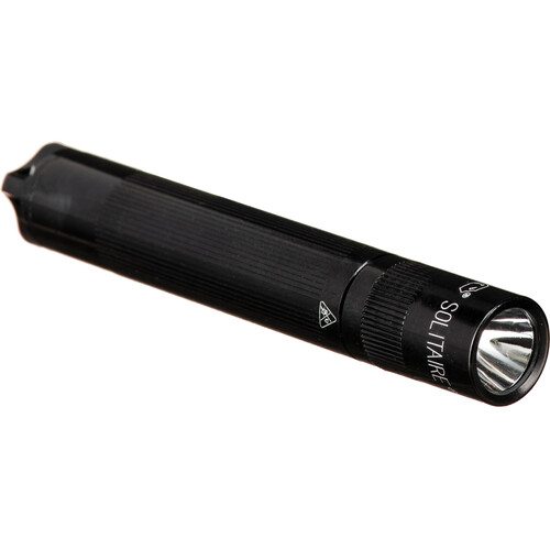 Maglite Solitaire 1-Cell AAA LED Flashlight (Black)