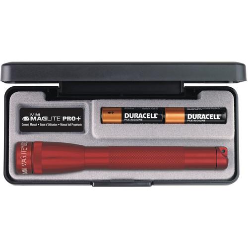 Maglite Mini Maglite Pro+ 2AA LED Flashlight (Red)