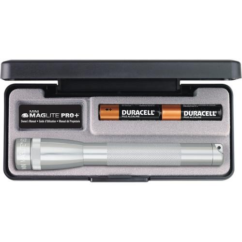 Maglite Mini Maglite Pro+ 2AA LED Flashlight (Silver)