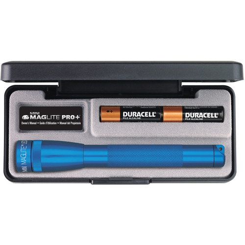 Maglite Mini Maglite Pro+ 2AA LED Flashlight (Blue)