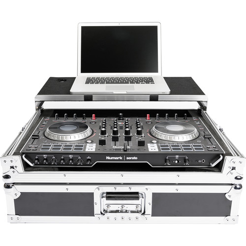 Magma Bags DJ-Controller Workstation NS6II - Road Case for Numark NS6II