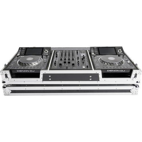 Magma Bags DJ Controller Case for One Denon X-1800 Prime Mixer & Two SC-5000 Prime Players