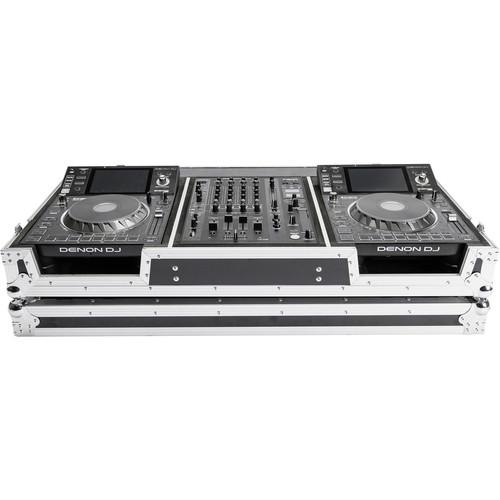Magma Bags DJ Controller Case for One Denon X-1800 Prime Mixer & Two SC-5000 Prime Players
