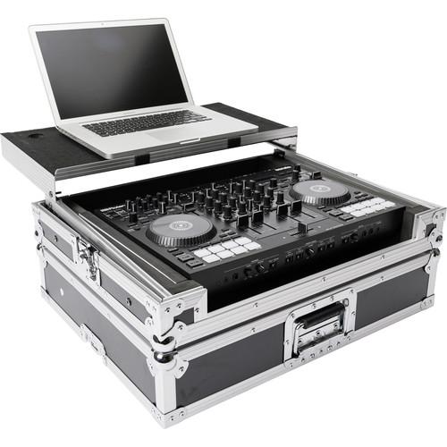 Magma Bags DJ-Controller Workstation Road Case for Roland DJ-707M (Black/Silver)