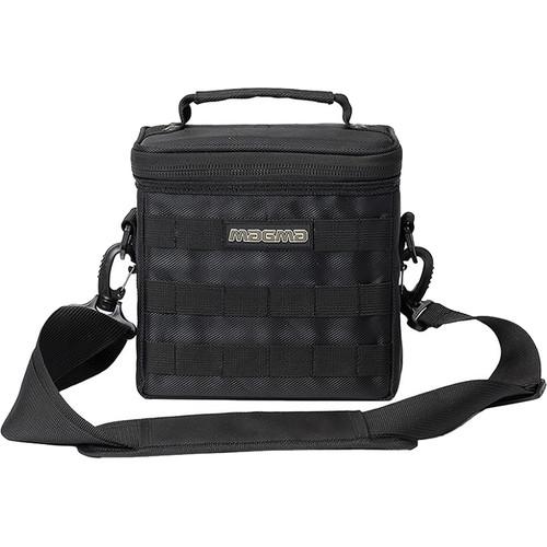 "Magma Bags 45 Record-Bag 50 Travel Bag for up to 50 7"" Records (Black/Khaki)"