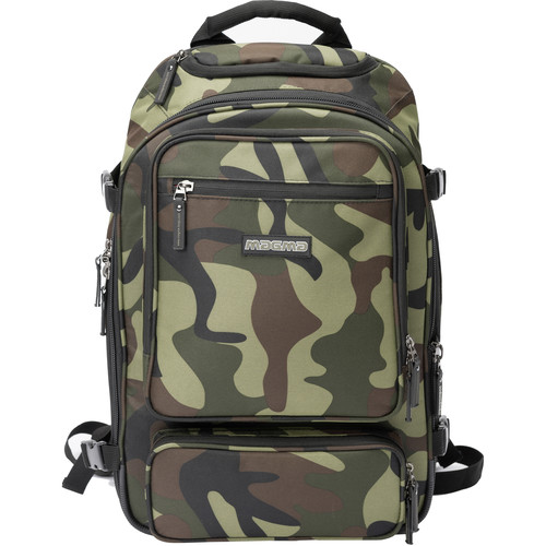 "Magma Bags Digi DJ-Backpack ""Battle Ave"" Edition (Camo-Green/Red)"