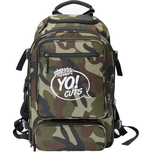 "Magma Bags Digi DJ-Backpack ""Practice Yo Cuts"" Edition (Camo-Green/Red)"