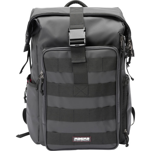 Magma Bags RIOT DJ-Stashpack XL Plus Bag for DJ Accessories (Black/Red)