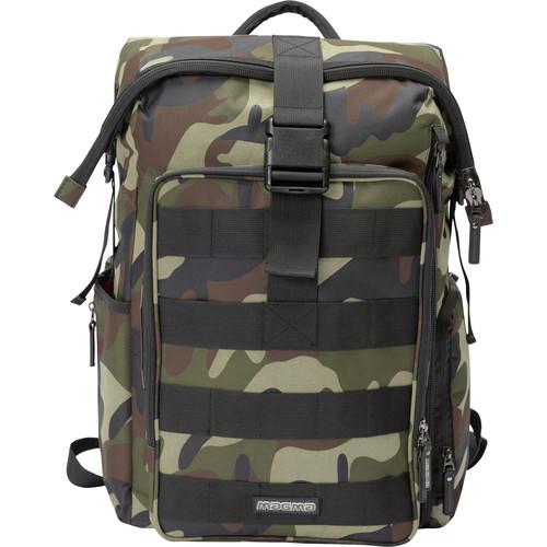 Magma Bags DIGI DJ-Stashpack XL Plus Bag for DJ Accessories (Camo-Green/Red)
