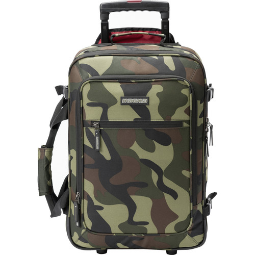 Magma Bags Digi Carry-On Trolley (Camo-Green/Red)
