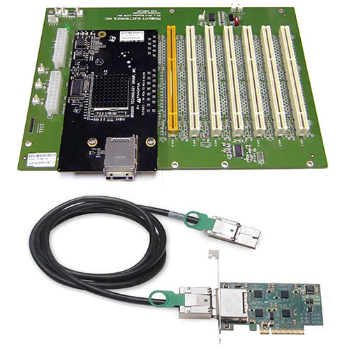 Magma 6 Slot PCI Express (x8 Host) to PCI-X Board-Set for 6 Slot Classic PCI-X Expansion System