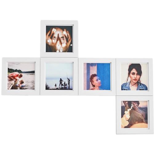 magnaframe 4x4 Square Frames (6-Pack, White)