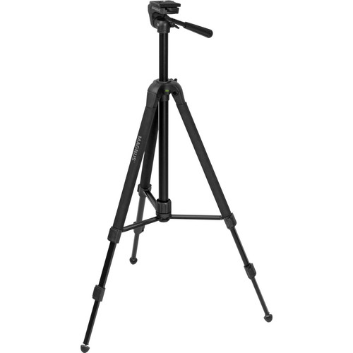 Magnus DX-5330M Deluxe Photo Tripod/Monopod With 3-Way Head